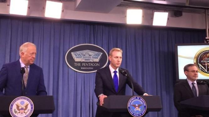 Ngày 2/2/2018, Mỹ công bố chiến lược hạt nhân mới. Ảnh: VOA.