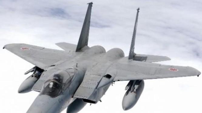 Máy bay chiến đấu F-15J của Lực lượng Phòng vệ Trên không Nhật Bản. Ảnh: Cankao.