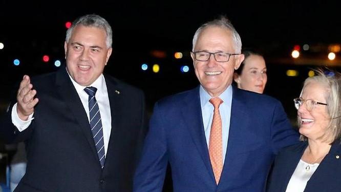 Thủ tướng Australia Malcolm Turnbull thăm Mỹ. Ảnh: The Australian.