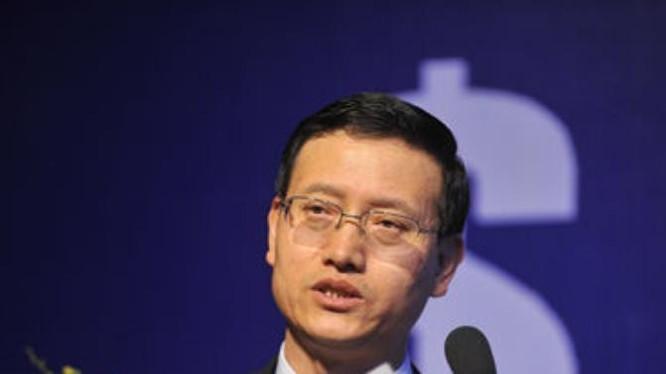 Vương Ngân Thành, nguyên phó bí thư đảng ủy, phó chủ tịch hội đồng quản trị, tổng giám đốc Tập đoàn bảo hiểm nhân dân Trung Quốc đã bị khởi tố. Ảnh: QQ.