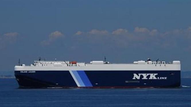 Tàu chở dầu cỡ lớn do Nhật Bản tự chế tạo. Ảnh: Cankao.