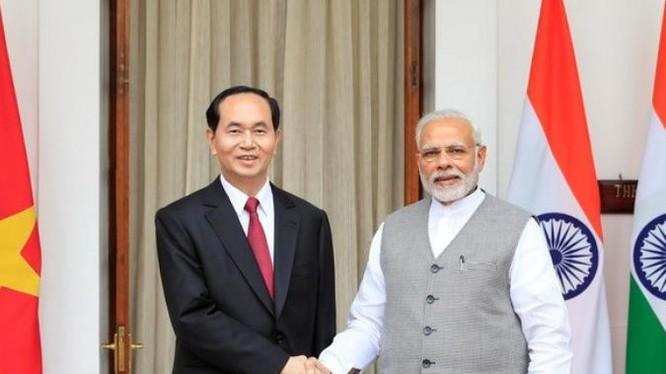 Chủ tịch nước Trần Đại Quang thăm Ấn Độ.