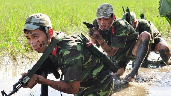 Lực lượng đặc công Việt Nam. Ảnh: News.ifeng.com.