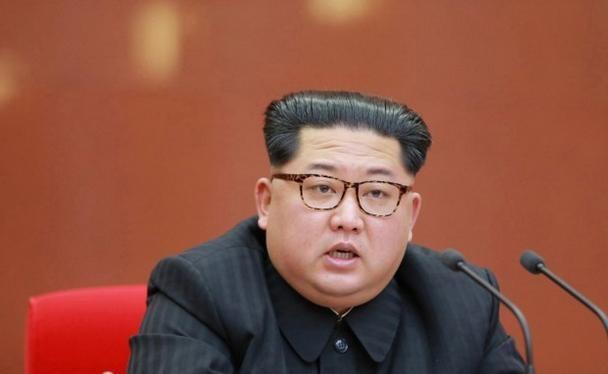 """Nhà lãnh đạo Triều Tiên Kim Jong-un vừa đưa ra """"đường lối chiến lược mới"""". Ảnh: Liberty Times Net."""