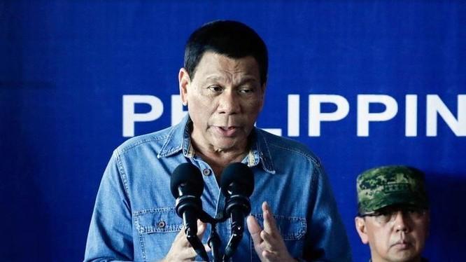 Tổng thống Philippines Rodrigo Duterte. Ảnh: UDN.
