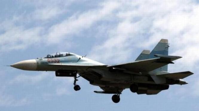 Máy bay chiến đấu Su-30MK2V của không quân Việt Nam. Ảnh: Sina.