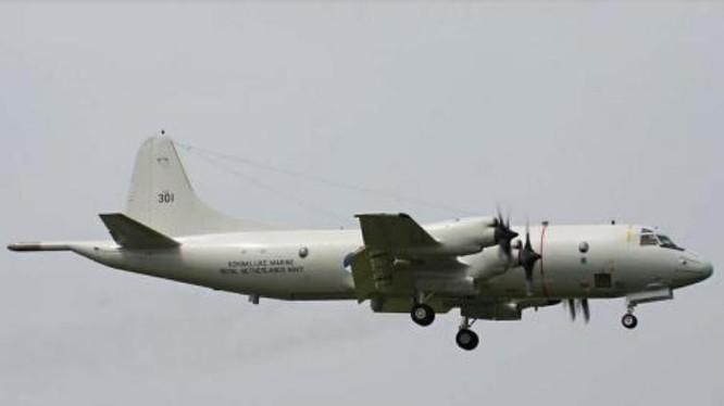 Máy bay tuần tra săn ngầm P-3C Mỹ. Ảnh: Sina.