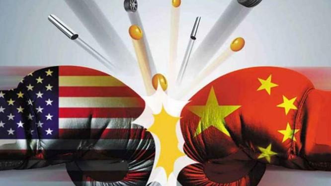 Trung Quốc và Mỹ đang có nguy cơ xảy ra chiến tranh thương mại quy mô lớn. Ảnh: Yicai.
