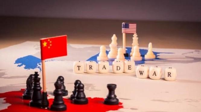 Chiến tranh thương mại Trung - Mỹ. Ảnh: Chinatimes.