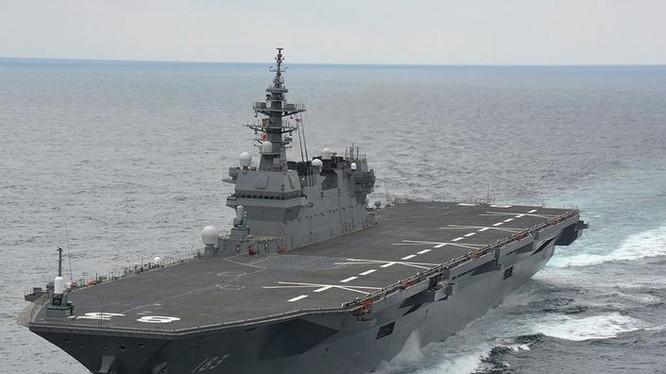 Tàu sân bay trực thăng lớp Izumo của Lực lượng phòng vệ biển Nhật Bản. Ảnh: Military Watch Magazine.