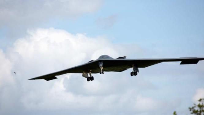 Máy bay ném bom chiến lược B-2 không quân Mỹ. Ảnh: Sina.
