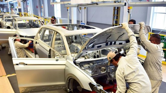 Hãng ô tô Volkswagen của Đức. Ảnh: The Wall Street Journal.