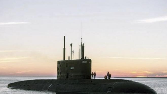 Tàu ngầm thông thường lớp Kilo do Nga chế tạo. Ảnh: Sina.