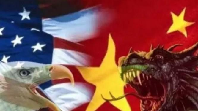 Chiến tranh thương mại Trung - Mỹ. Ảnh: Kaixian.