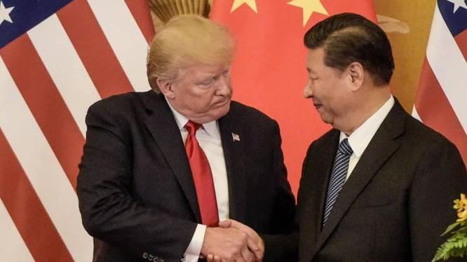 Tổng thống Mỹ Donald Trump và Chủ tịch Trung Quốc Tập Cận Bình. Ảnh: The Japan Times.