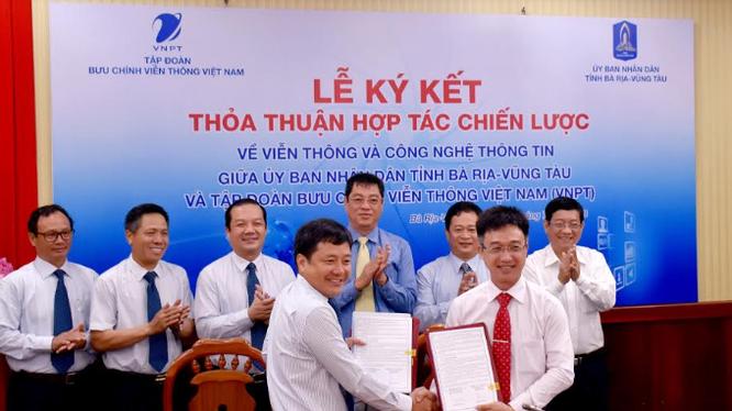 VNPT và UBND tỉnh Bà Rịa – Vũng Tàu cùng đầu tư nguồn lực, triển khai các chương trình hợp tác VT-CNTT.
