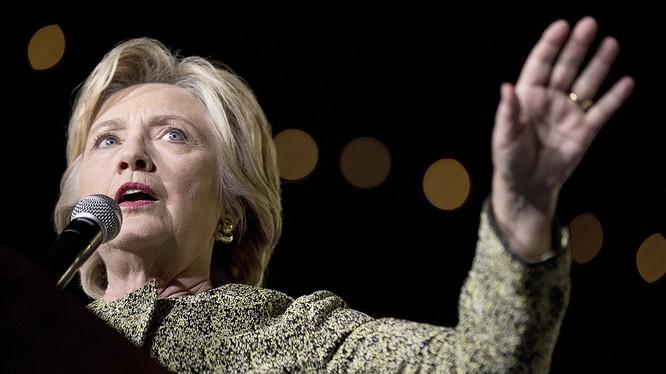 Bà Hillary Clinton có quan điểm cứng rắn với Trung Quốc