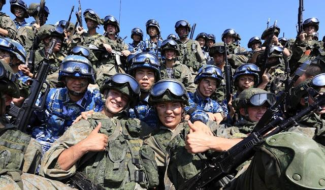 Nga đã tập trận chung với Trung Quốc ở Biển Đông hồi tháng 9 vừa qua