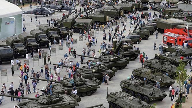 Vũ khí Nga được nhiều quốc gia ưa chuộng