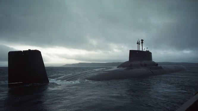 Tàu ngầm hạt nhân Nga sở hữu sức mạnh khủng khiếp