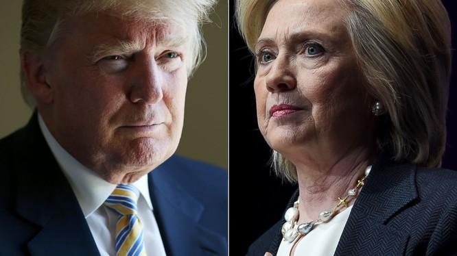 Ông Donald Trump đã thay đổi cách nói về đối thủ Hillary Clinton sau khi giành chiến thắng