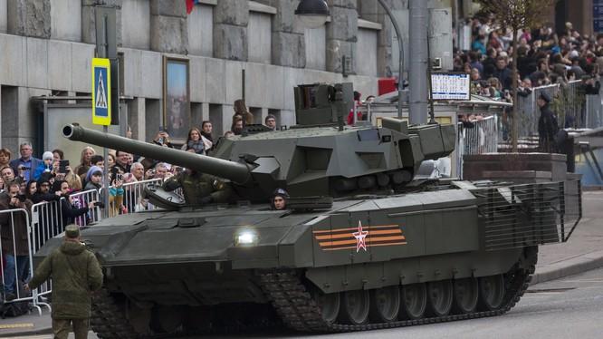 Siêu tăng Armata của Nga được coi là một cuộc cách mạng trong công nghiệp quốc phòng