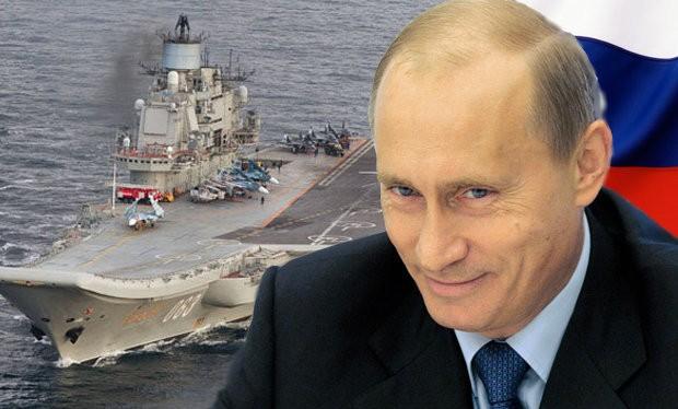 Nga đã điều cụm tác chiến tàu sân bay đến Syria tham gia chiến dịch giải phóng Aleppo