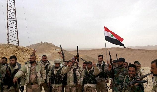 Quân đội Syria đang giành nhiều thắng lợi quân trọng tại chiến trường Aleppo