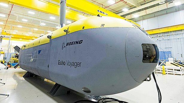 Tàu ngầm không người lái Voyager của hải quân Mỹ