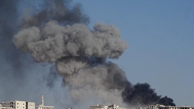 Chiến sự ở Aleppo vẫn đang tiếp diễn hết sức ác liệt