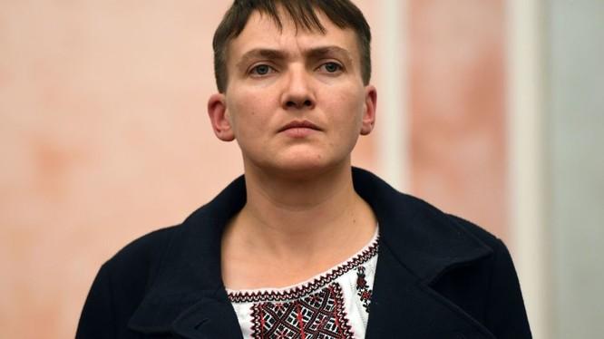 Nữ nghị sĩ Ukraine Savchenko