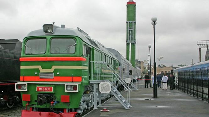 Đoàn tàu hạt nhân là một vũ khí bí mật đầy uy lực của Nga