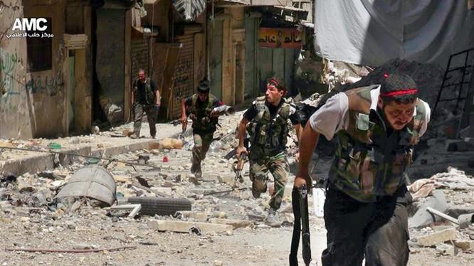Phiến quân Syria tử thủ ở Aleppo