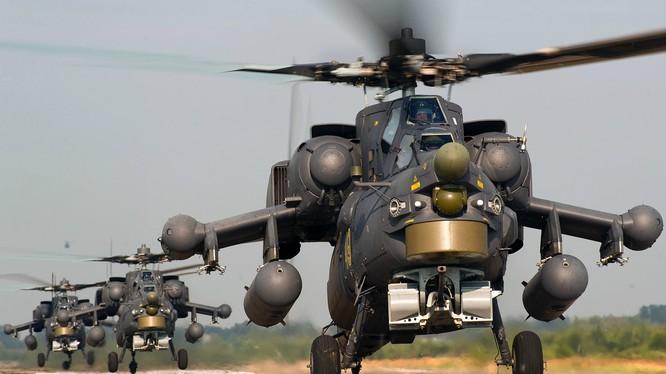 Trực thăng chiến đấu M-28 của Nga tham chiến tại Syria