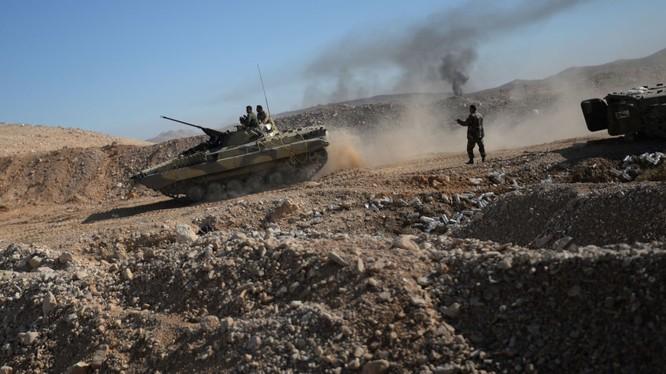 Xe tăng của quân đội Syria