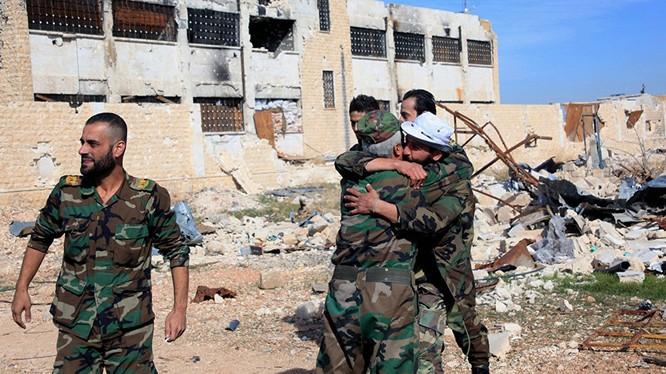 Chiến sự Aleppo đã gần đi tới hồi kết