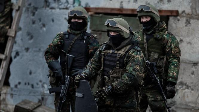 Binh sĩ đặc nhiệm Spetsnaz của Nga