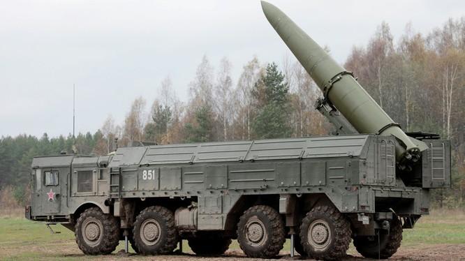 Nga đã triển khai nhiều loại vũ khí hiện đại như tên lửa Iskander tới Kalingrad