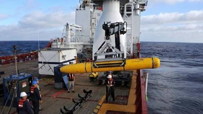 Trung Quốc và Mỹ đang đấu khẩu xung quanh vụ thu giữ tàu lặn không người lái ở Biển Đông