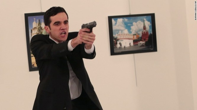 Hung thủ ám sát đại sứ Nga là một kẻ khủng bố thuộc tổ chức phiến quân Syria