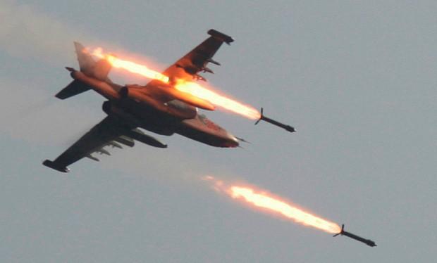Chiến đấu cơ Nga khai hỏa diệt mục tiêu tại Syria