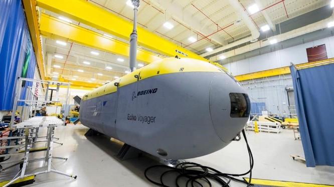 Tàu ngầm Voayager của Mỹ