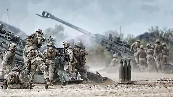 Pháo di động M777 Howitzer của Mỹ
