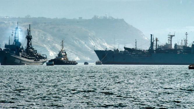 Hạm đội Biển Đen Nga đóng trú tại bán đảo Crimea