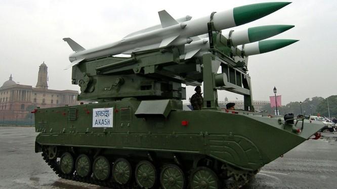 Tên lửa phòng không của Ấn Độ