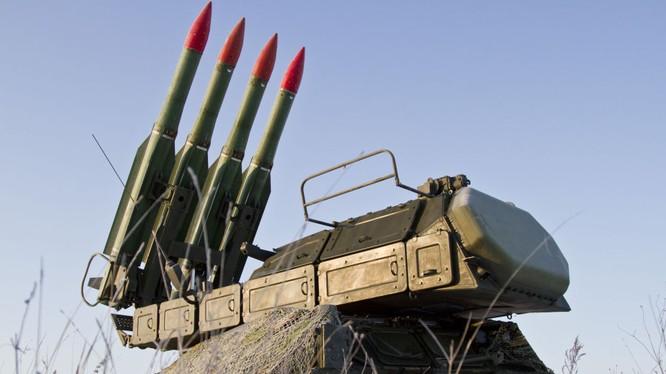 Hệ thống tên lửa Buk-M2 của Nga
