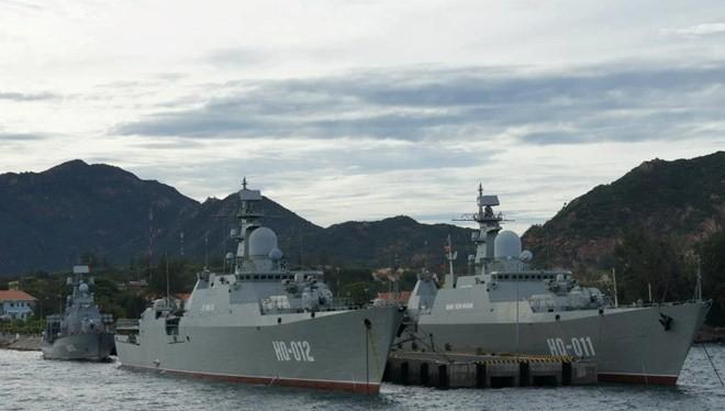 Cặp chiến hạm Gepard đầu tiên của hải quân Việt Nam