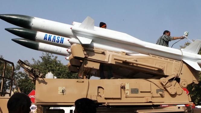 Tên lửa Akask của Ấn Độ