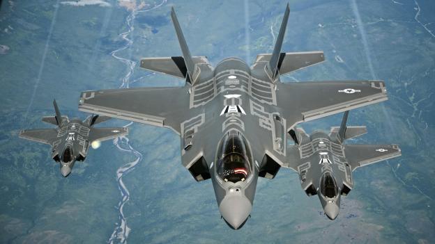 Phi đội chiến đấu cơ tàng hình F-35 của Mỹ đã trực chiến tại Nhật Bản