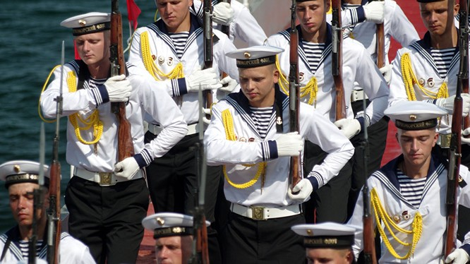 Thủy binh Nga tại Sevastopol